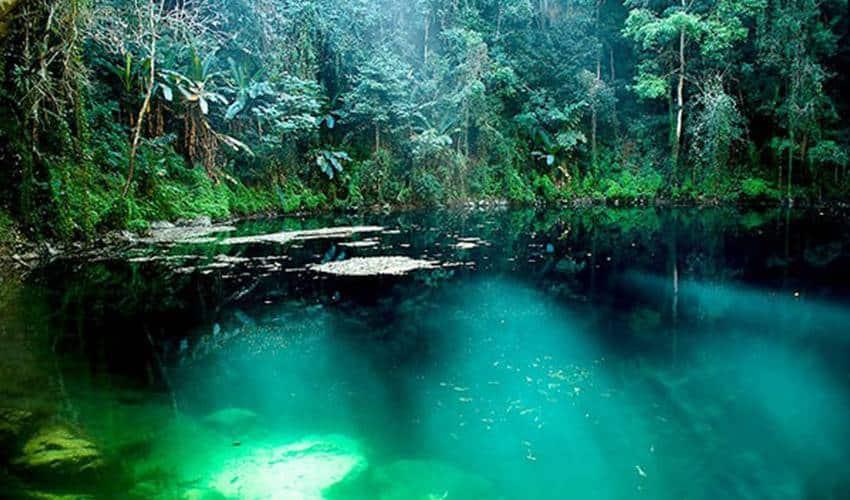 emerald lake day trip Chiang Mai