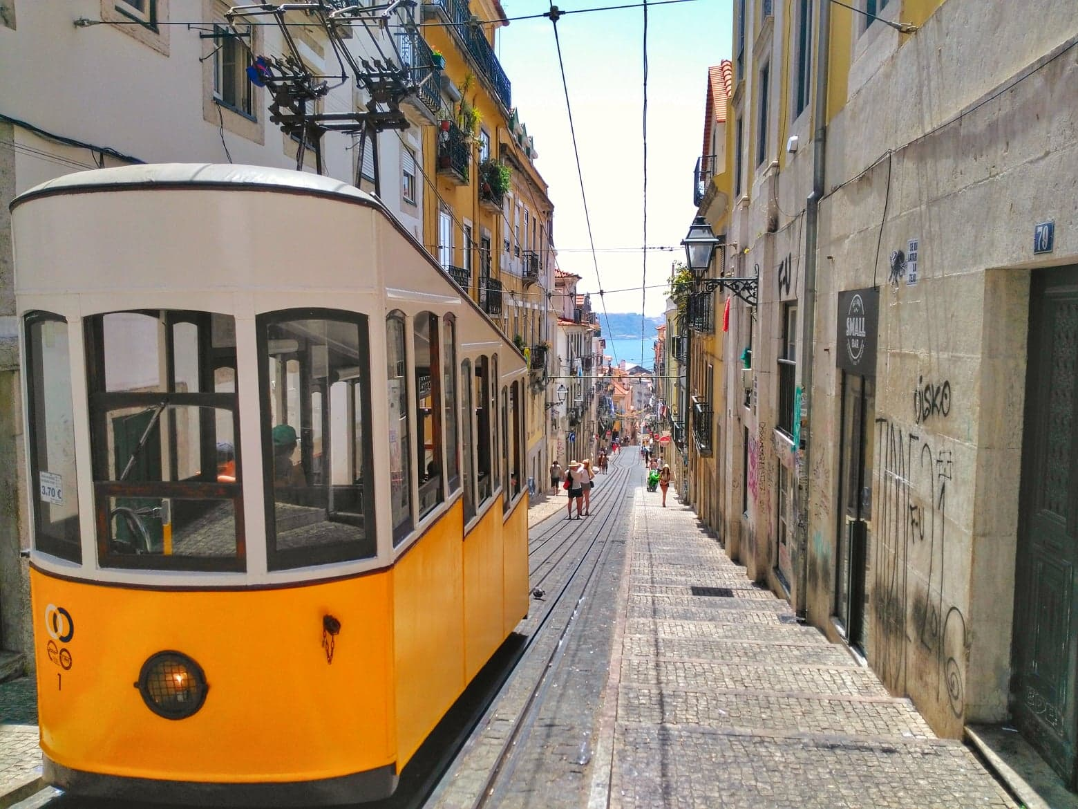 Lisbon Cost of Living - transportation on tram